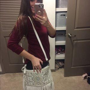 Adorable fringe purse!
